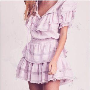 LoveShackFancy lavender Liv dress